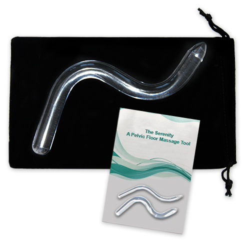 Serenity TMT - Pelvic Floor Massage and Trigger Point Tool-Vaginal (Regular Size 3/4