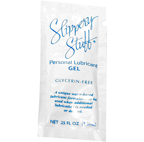 Paraben Free Slippery Stuff Personal Lubricating Gel - .25 oz Single-Use Travel Pack