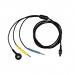 STIM DIN Adaptor Cable Set (55in, 140cm ) for U-Control sEMG (Biofeedback) system