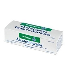 70% Alcohol Swabs 200/Box - Pre-Injection antiseptic skin cleansing