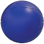 Blue Mini Vinyl Exercise Ball with Athletic Air Valve