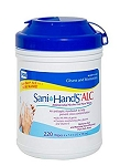 Sani-Hands, Alcohol Gel Hand Wipes - 135/Canister